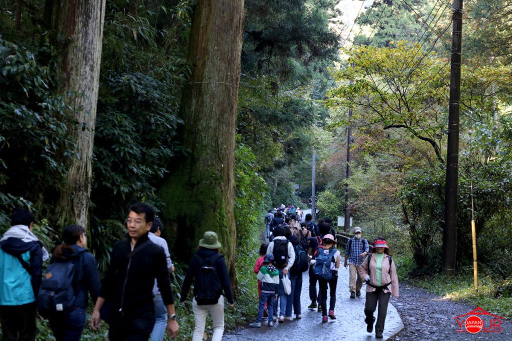 Trail #1 mount takao