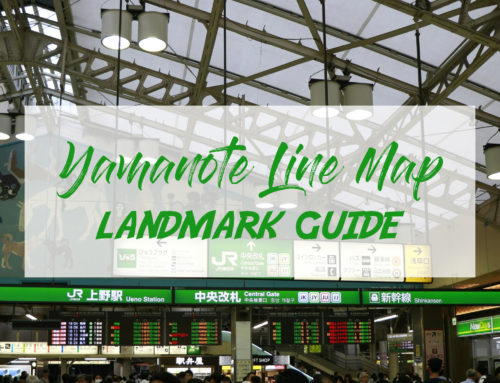 Yamanote Line Map: Landmark Guide