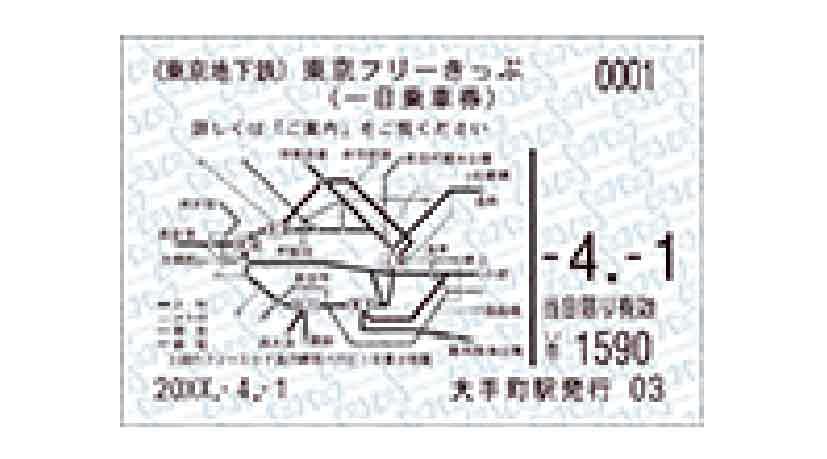 Tokyo Metro Combination Ticket