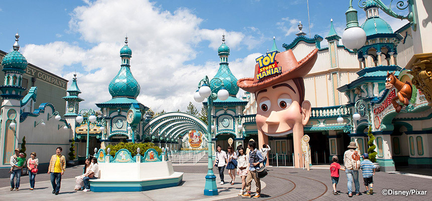 Tokyo DisneySea - ToyStroy Mania