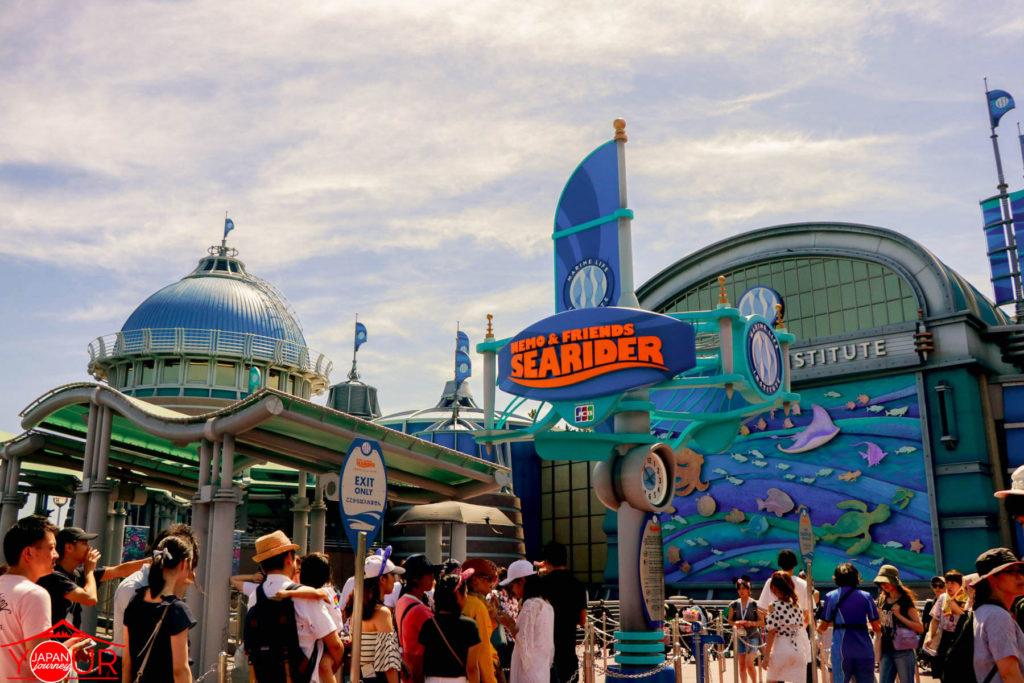 Tokyo DisneySea - Nemo Searider