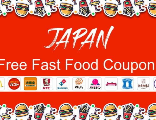 Japan FREE Fast Food Coupons!