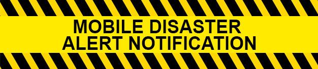 Mobile Disaster Alert Notification