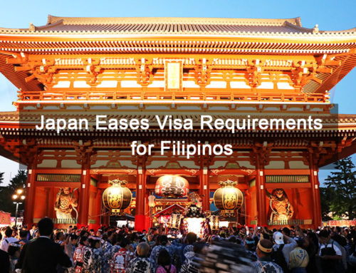 Japan Eases Visa Requirements for Filipinos