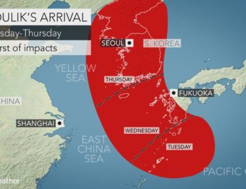 Japan Weather News – Typhoon Soulik