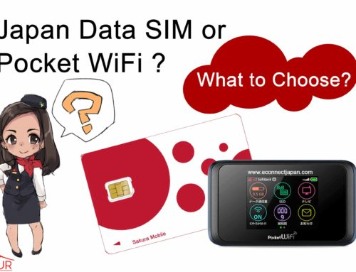 Japan Data SIM or Pocket WiFi