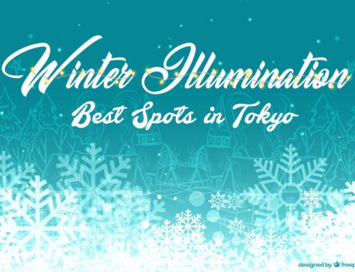 Winter Illumination Spots in Tokyo