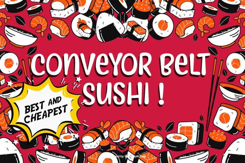 Conveyor Belt Sushi - Kurasushi