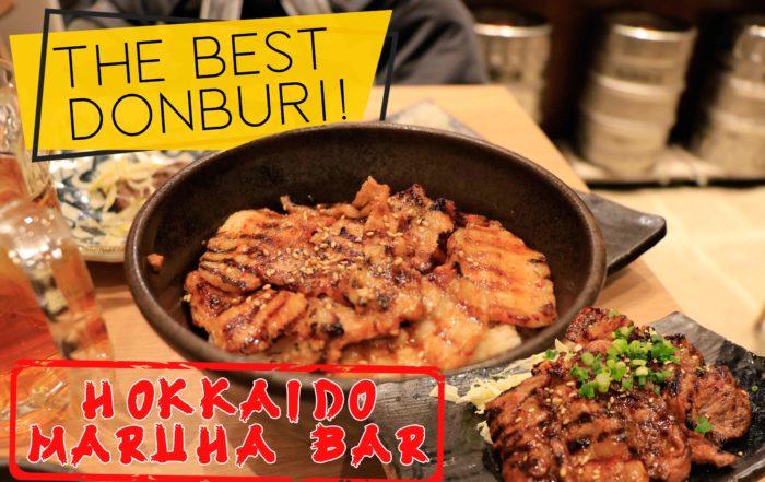 Hokkaido Maruha Bar - Best Donburi Bowl!