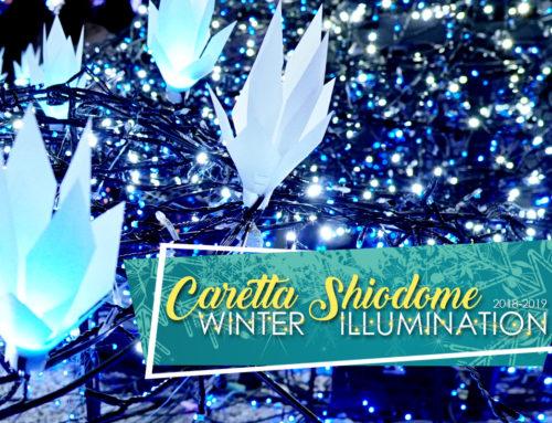 Caretta Shiodome Winter Illumination 2018-2019