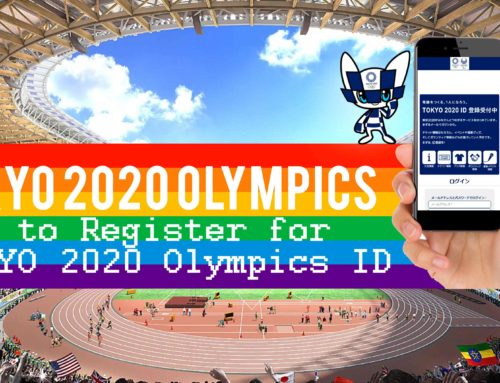 How to Register for TOKYO 2020 Olympics ID