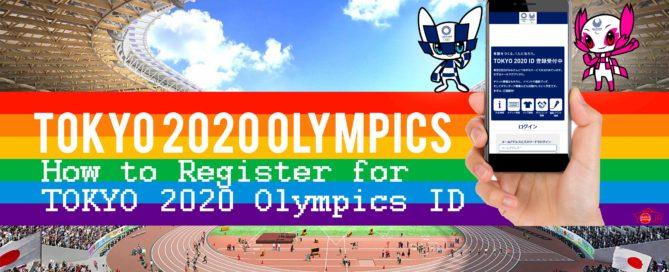 Tokyo 2020 Olympics ID