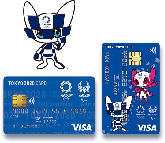 Tokyo 2020 Olympics Visa Card