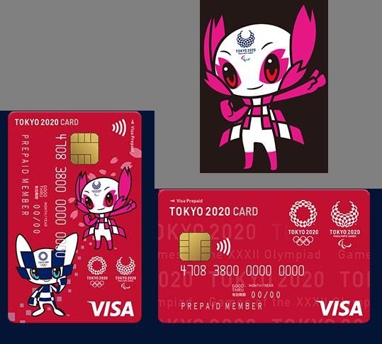 Tokyo 2020 Olympics Visa Card 2