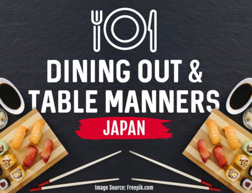 Dining out and Table Manners Etiquette in Japan