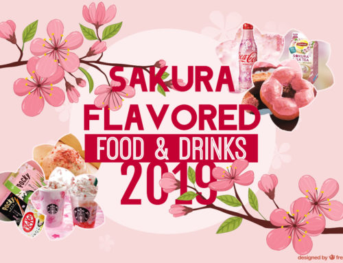 Sakura Flavored Food and Drinks: Japan