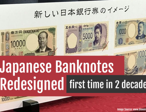 Japanese Banknotes Redesigned: first time in two decades