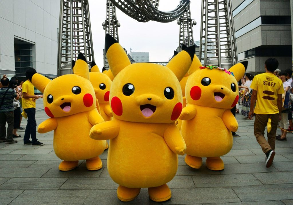 Dancing Pikachu Parade 2019