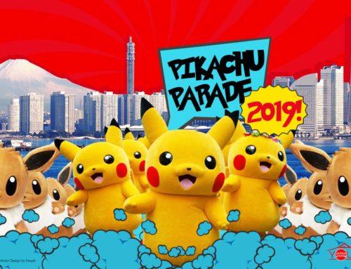Dancing Pikachu Parade 2019 Yokohama