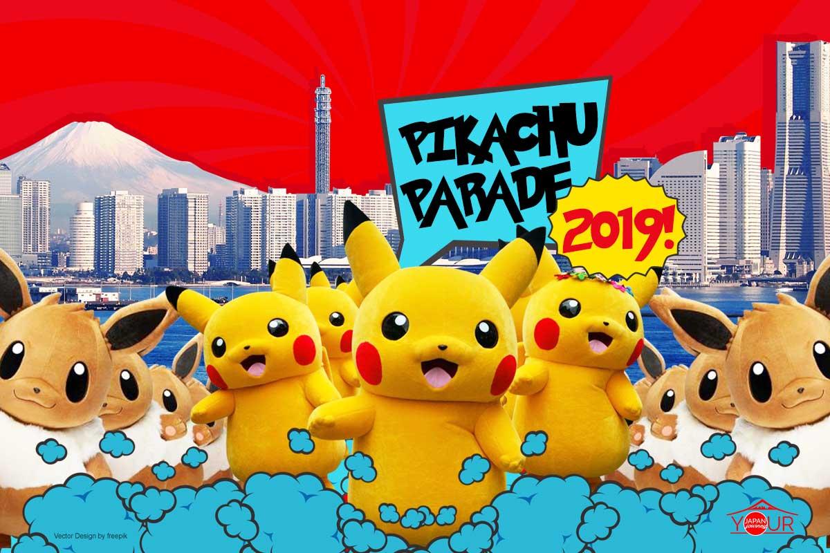 Dancing Pikachu Parade 2019 cover 2