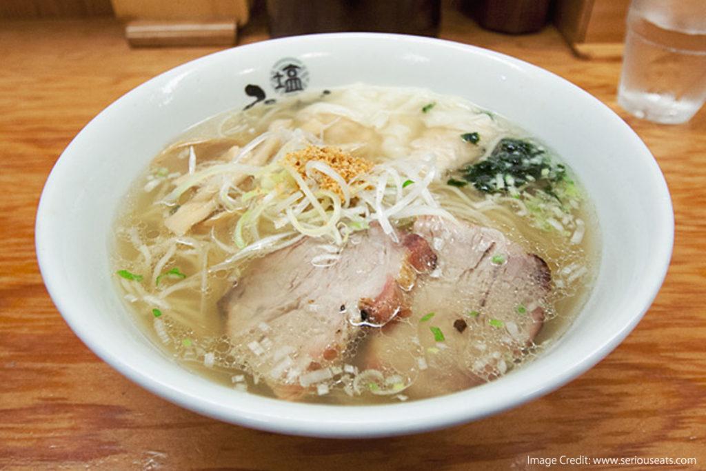 Japanese Ramen-Types-Flavor-shio