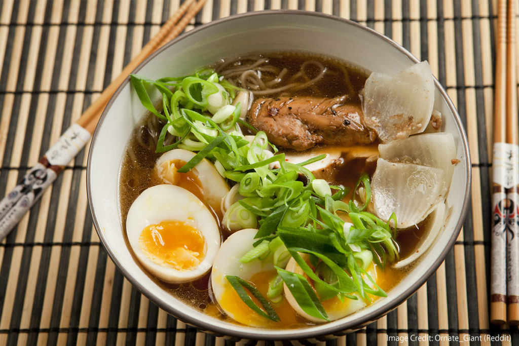 Japanese Ramen-Types-Flavor-shoyu