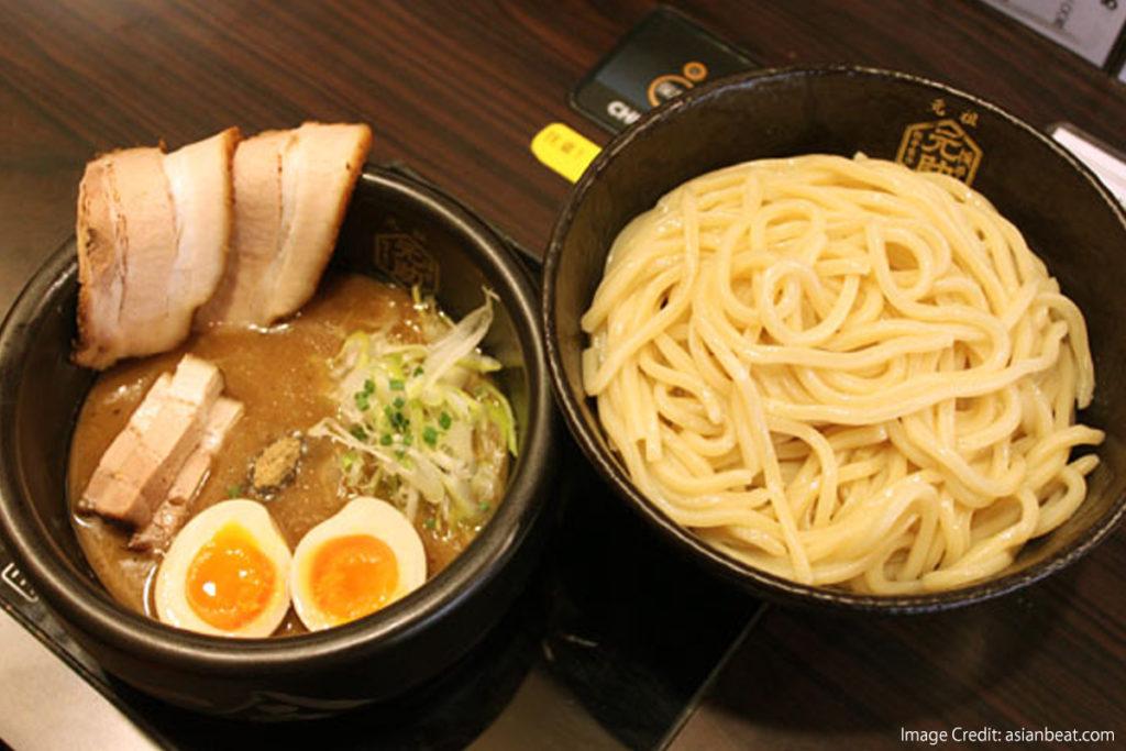 Japanese Ramen-Types-Flavor-tsukemen