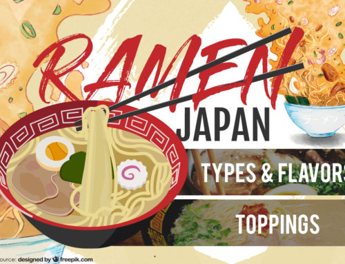 Types of Japanese Ramen and Toppings