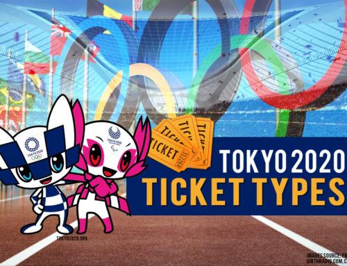 TOKYO 2020: Ticket Types