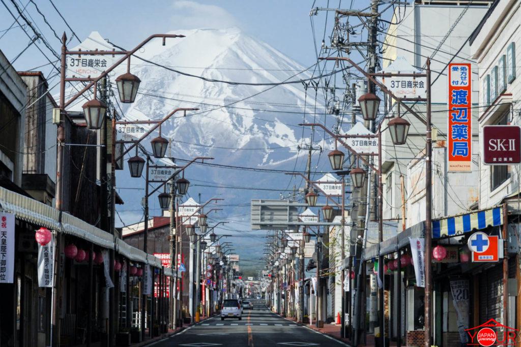 Shimoyoshida - Mt. Fuji Street Photo