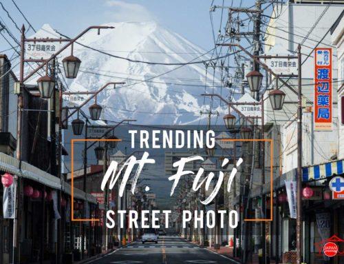 Trending Mt. Fuji Street Photo