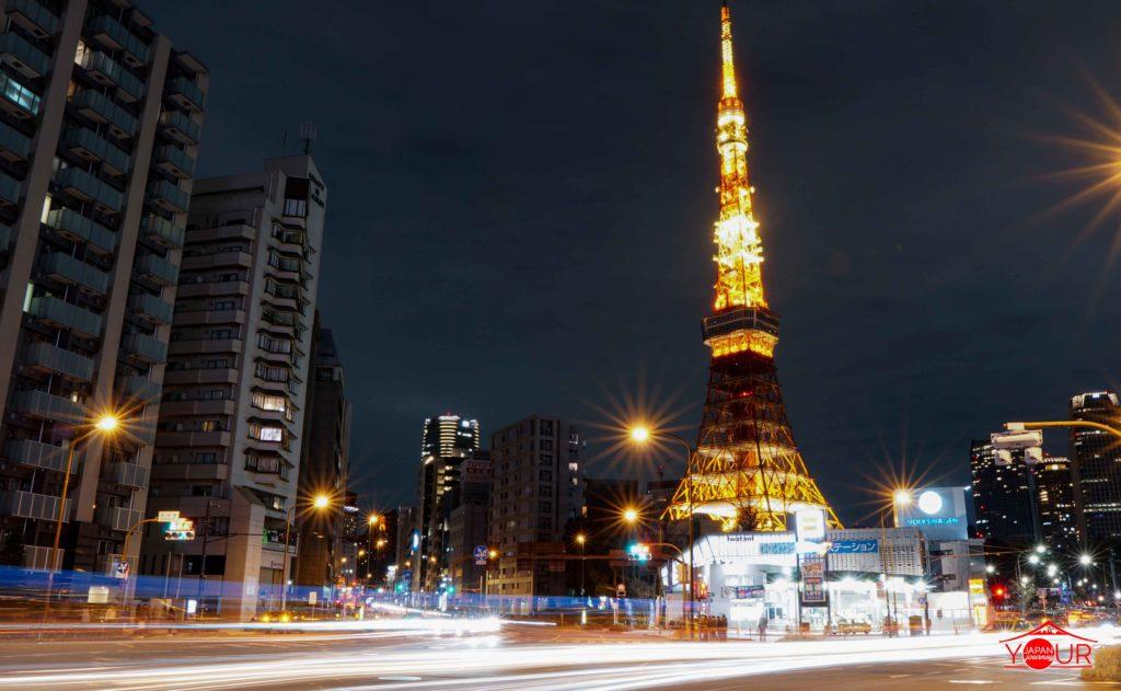 Instagrammable Spots in Tokyo - Akabane Bridge Tokyo Tower