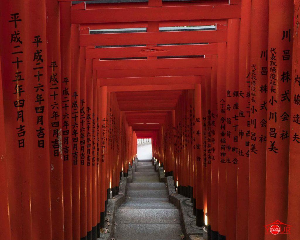 Instagrammable Spots in Tokyo - Hie Shrine Red Torii Gates