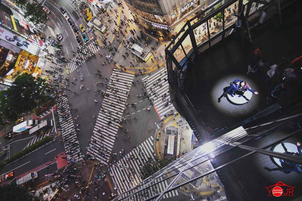 Instagrammable Spots in Tokyo - Shibuya Crossing View Deck