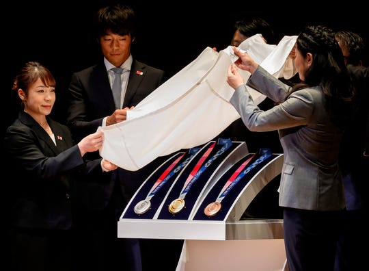 TOKYO_2020 Medals unveiling