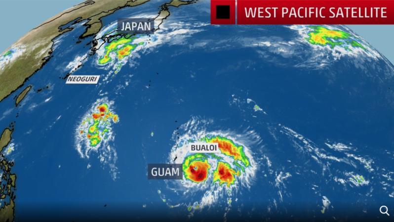 Typhoon Neoguri - Typhoon Bualoi